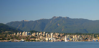 Vancouver del nord Immagini Stock Libere da Diritti