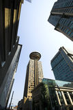 Vancouver downtown stock images