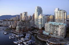 Vancouver downtown Stock Photography