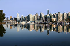 Vancouver Downtown Stock Image