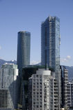 Vancouver downtown architecture Stock Photos