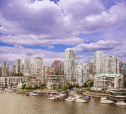 Vancouver downtown. Stock Photos