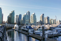 Vancouver Downtown, British Columbia, Canada Royalty Free Stock Images