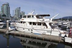 Vancouver Downtown Marina Stock Image