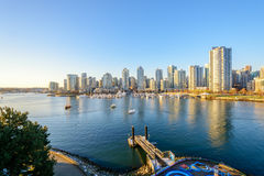 Vancouver downtown skyline Royalty Free Stock Photos