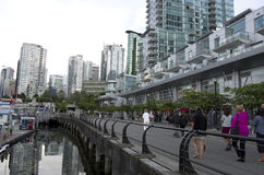 Vancouver Downtown Waterfront Stock Photo