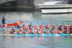 Vancouver Dragon Boat Competition Royalty Free Stock Photos
