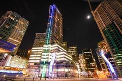 Vancouver du centre Photographie stock libre de droits