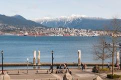 Vancouver du centre Photographie stock