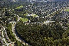 Vancouver du nord Photos libres de droits