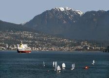 Vancouver e baia inglese Fotografie Stock Libere da Diritti