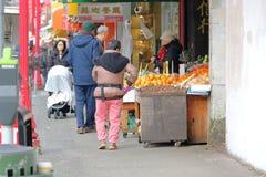 Vancouver e Chinatown fotografia stock