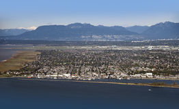 Vancouver e Richmond fotografia stock
