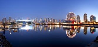 Vancouver en Canadá foto de archivo libre de regalías