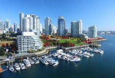 Vancouver en Canadá Imagenes de archivo