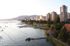 Vancouver English Bay Stock Image