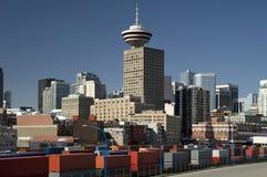 Vancouver - estación comercial fotografía de archivo libre de regalías