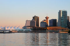Vancouver evening , Canada Royalty Free Stock Images