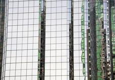 Vancouver exponeringsglasskyskrapa Arkivfoton