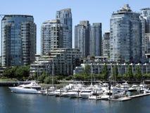 Vancouver Fałszywa zatoczka Obrazy Stock