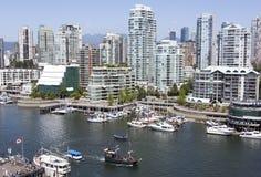 Vancouver False Creek Fotografía de archivo libre de regalías