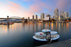 Vancouver False Creek Royalty Free Stock Photography