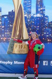 Vancouver Fan Zone at 2015 FIFA Women's World Cup Stock Photo