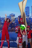 Vancouver Fan Zone at 2015 FIFA Women's World Cup Stock Photos