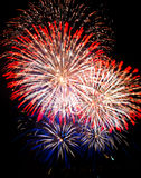 Vancouver-Feuerwerke Lizenzfreie Stockfotos