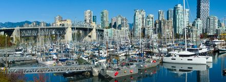 Vancouver Fishermen`s Wharf royalty free stock images