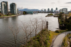 Vancouver fjärd Arkivfoto
