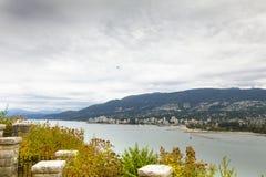 Vancouver fjärd västra Kanada brittiska columbia f. Kr. Fotografering för Bildbyråer