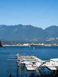 Vancouver flötenivåer Arkivbild