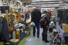 Vancouver Flea Market Stock Photo
