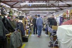 Vancouver-Flohmarkt Lizenzfreies Stockbild