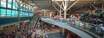 Vancouver flygplats F. KR. Kanada Arkivbild