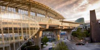 Vancouver flygplats F. KR. Kanada Royaltyfria Bilder