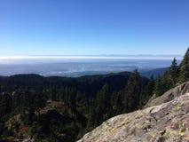 Vancouver från Seymour Mountain Royaltyfri Foto
