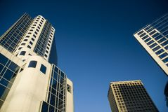Vancouver-Gebäude Lizenzfreies Stockbild