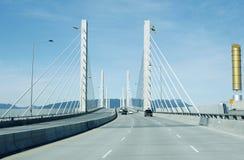 Vancouver Golden Ears Bridge Stock Image