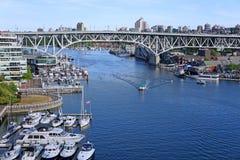 Vancouver, Granville Island marina Royalty Free Stock Image