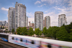 Vancouver Growing Skyline Stock Image