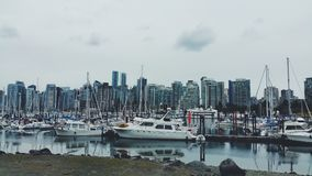 Vancouver-Hafen Stockbild