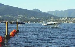 Vancouver-Hafen, Alberta, Kanada Lizenzfreie Stockbilder