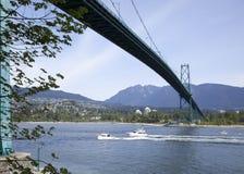 Vancouver-Hafen-Transport Stockfotos