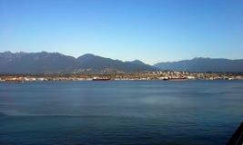 Vancouver hamn Royaltyfri Bild