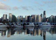 Vancouver hamn Royaltyfria Foton