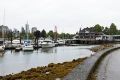 Vancouver hamn 1 Arkivfoto