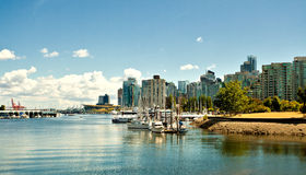 Vancouver Harbor Royalty Free Stock Image