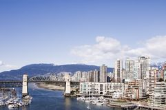 Vancouver harbor Stock Image